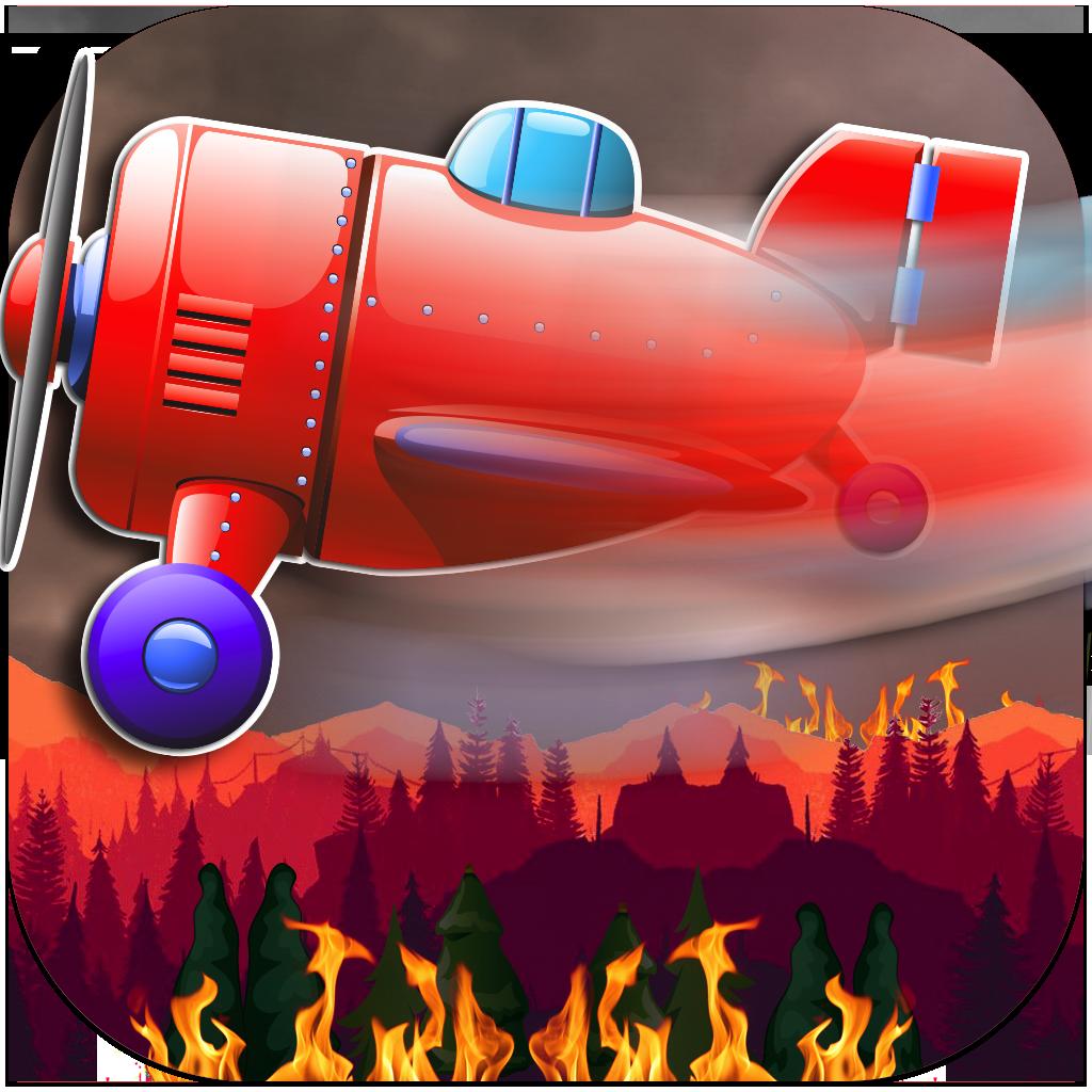 Fire Rescue Plane PRO- Forest Flame Destruction